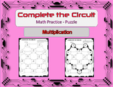 Complete the Circuit Math Practice Puzzle