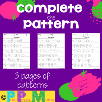 Complete the Pattern