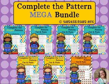 Complete the Pattern | MEGA Bundle |