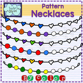 Complete the Pattern Necklaces clipart