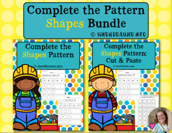 Complete the Pattern | Shapes | Bundle