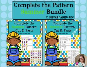 Complete the Pattern   Summer   Bundle