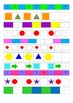 Complete the Pattern Worksheet for Kindergarten