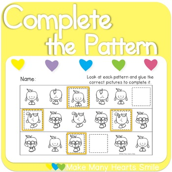 Complete the Patterns: Apples