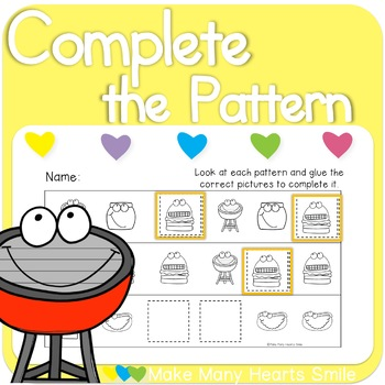 Complete the Patterns: BBQ    MMHS23