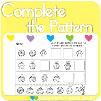 Complete the Patterns: Bugs