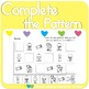 Complete the Patterns: Candy