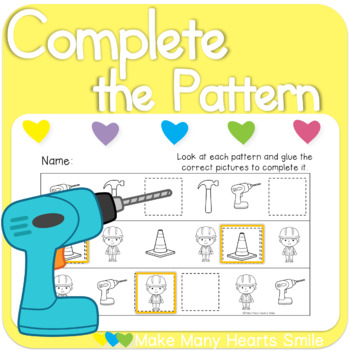 Complete the Patterns: Construction