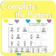 Complete the Patterns: Construction Kids    MMHS23
