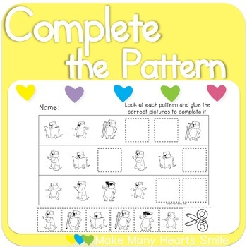 Complete the Patterns: Groundhog's Day