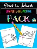 Complete-the-Picture Prompts: Back to School (+ Writing Paper)