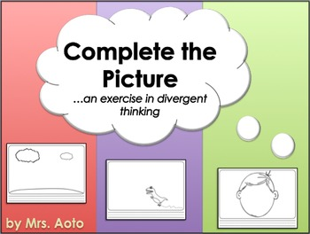 Complete the Picture Worksheets