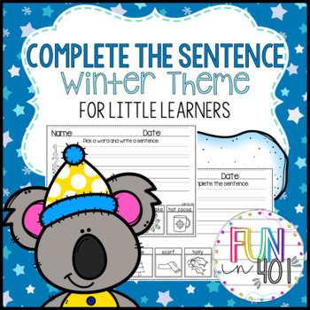 Complete the Sentence: Winter Themed!