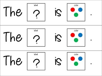 Complete the Sentence Writing/ Language Tasks