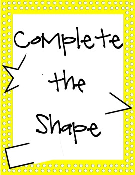 Complete the Shape