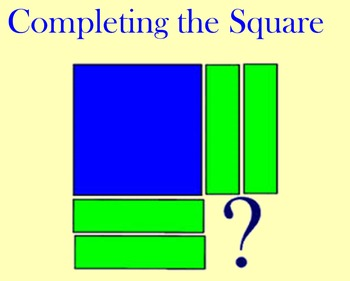 Completing The Square Algebra Tiles Worksheets & Teaching ...