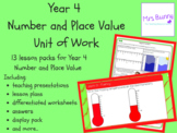 Year 4 Number and Place Value Complete Unit Pack