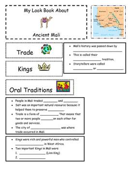 Ancient Mali flip book