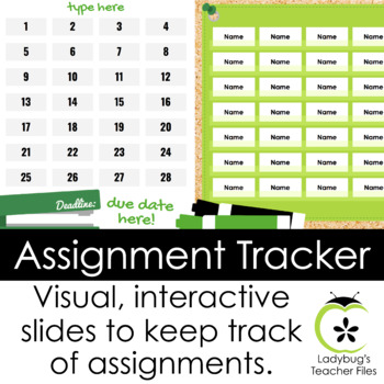 Assignment Tracker: Google Templates to Keep Track of Student Papers