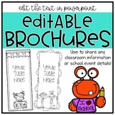 Completely Editable Brochures for Any School Occasion