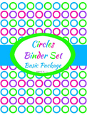 Completely Editable Teacher Binder Set