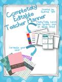 Completely Editable Teacher Planner/Binder - Plan on Power Point or Google Drive