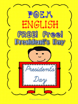Completely FREE ENGLISH President's Day Poem