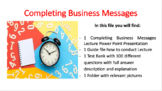Completing Business Messages (Business Communication)