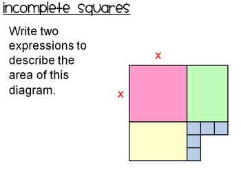 Completing The Square Lesson & Activity Pack