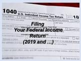 Filing a Federal Tax Return: Everyday Life Skills Series