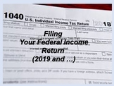 Filing a Federal Tax Return: Everyday Life Skills Series