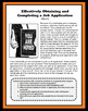 Job Application, Employment Applications, Careers, Vocational, Reading