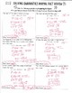 Completing the Square Animal Facts Review