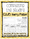 Completing the Square: Harry Potter Clues