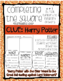 Completing the Square: Harry Potter Clues Intermediate