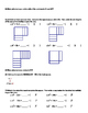 Completing the Square Introduction worksheet