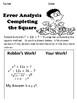 Completing the Square No Prep Lesson
