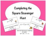Completing the Square Scavenger Hunt