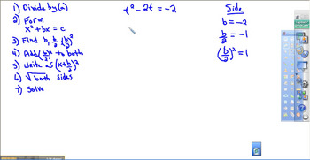 Completing the Square Video