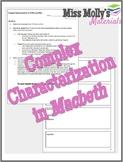 Complex Characterization in Macbeth (Symbolic Poster)