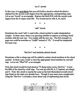 Complex Chords (Packet)