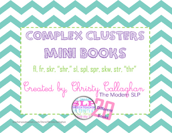 Complex Clusters Mini Books