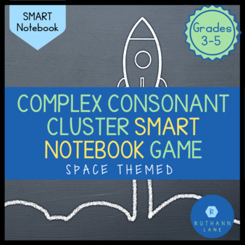 Complex Consonant Cluster (spl, shr, thr) SMART Notebook Game