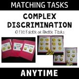 Complex Discrimination Matching- Anytime Tasks #tptfireworks