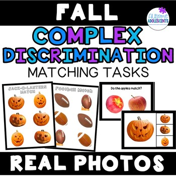 Complex Discrimination Matching Task with Real Photos- Fall