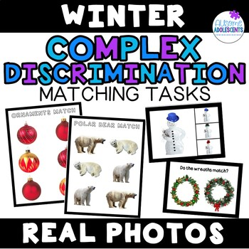 Complex Discrimination Matching Task with Real Photos- Winter