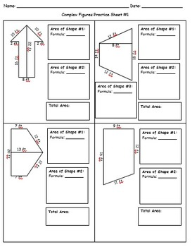 Complex Figure Practice Sheets