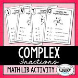 Complex Fractions Math Lib
