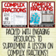 Complex Fractions to Unit Rates Activity Pack