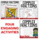 Complex Fractions to Unit Rates Lesson Bundle